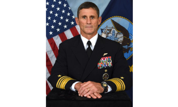Vice Adm. Andrew Lewis, Commander, U.S. 2nd Fleet