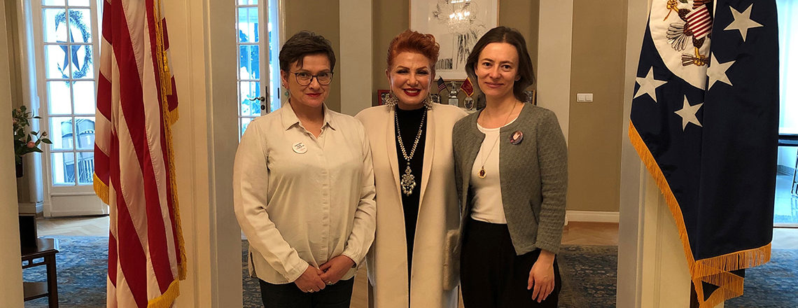 Ambassador Mosbacher Recognizes Two Winners of 2019 AEIF Competition