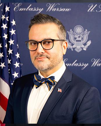 Photo of Chargé d'Affaires, a.i. B. Bix Aliu