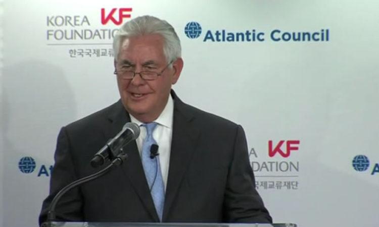 Secretary Rex Tillerson