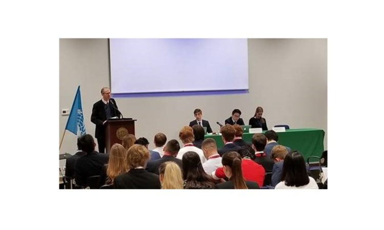 Cultural Attaché Dan Hastings Delivers Keynote Address at ZYGMUN Conference in Warsaw