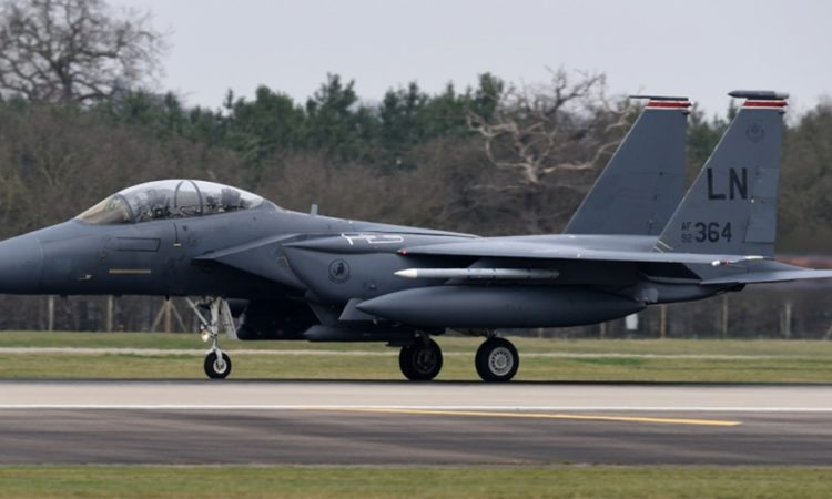 F-15E Strike Eagle (U.S. Air Force photo by Airman Madeline Herzog)