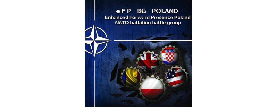 Uroczystość przekazania dowodzenia Batalionową Grupą Bojową w ramach EFP