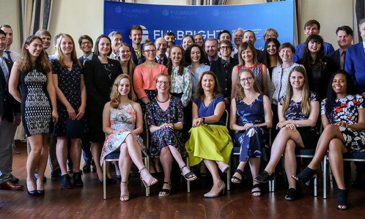 U.S. Fulbright Fellows 2018-2019