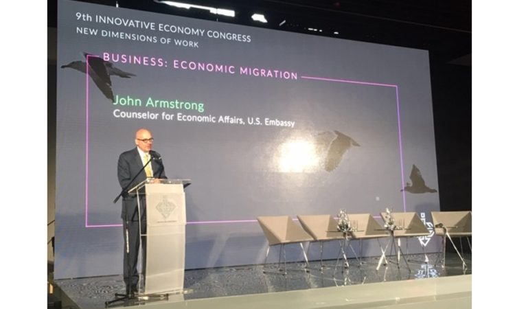 John Armstrong, Economic Counselor