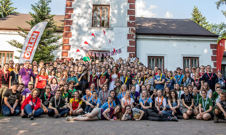 98bcf7971 Polish Scouts From All Over Poland Learn About Scouting Culture In America