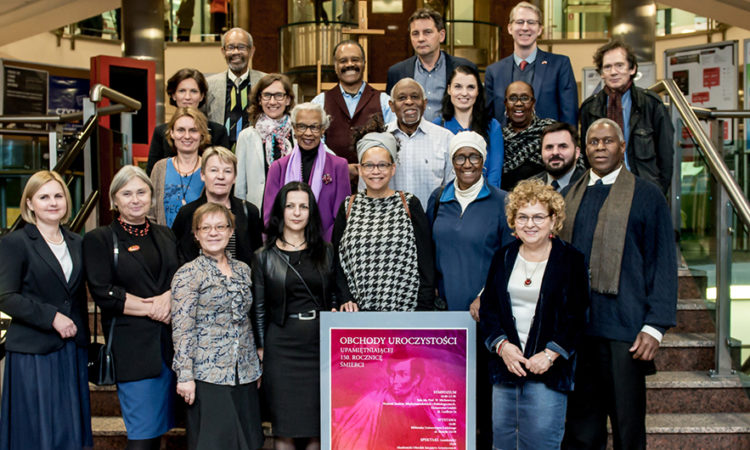 University of Łódż and US Faculty, British and American Actors, US Embassy and American Citizens Celebrate the Life of African-American Shakespearean Actor Ira Aldridge in Łódż, Poland