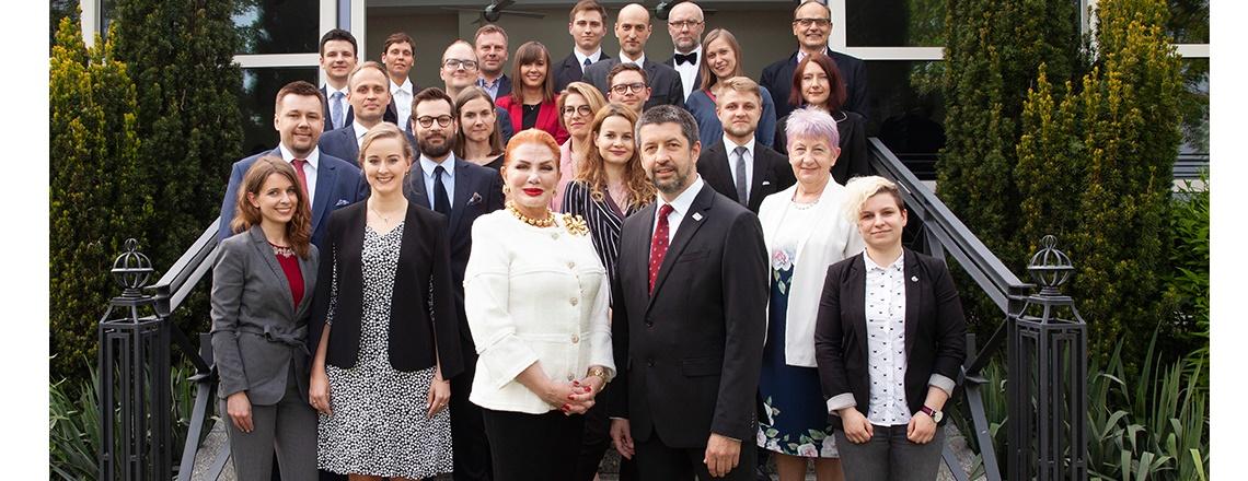 Ambassador Mosbacher Hosts Reception to Honor Cohort of Kosciuszko Foundation Fellows
