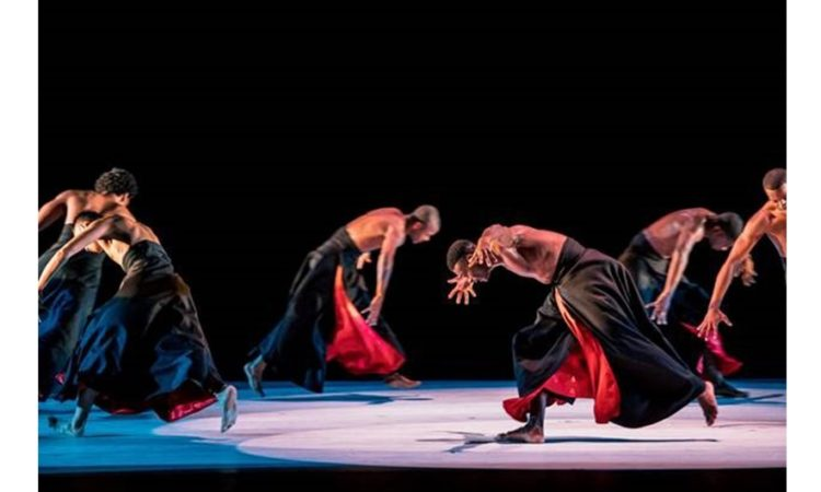 Dancers from the New York-based Alvin Ailey II American Dance Theater perform at the 22nd edition of the International Dance Theaters Festival in Lublin. (Photo credit: Maciek Rukasz)