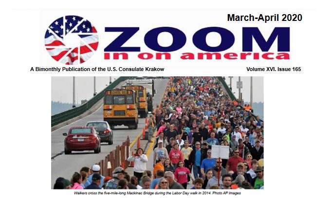 Zoom in on America - wydanie marzec - kwiecień 2020