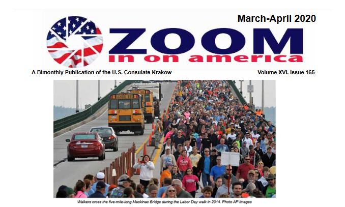 March-April 2020 issue of Zoom in on America
