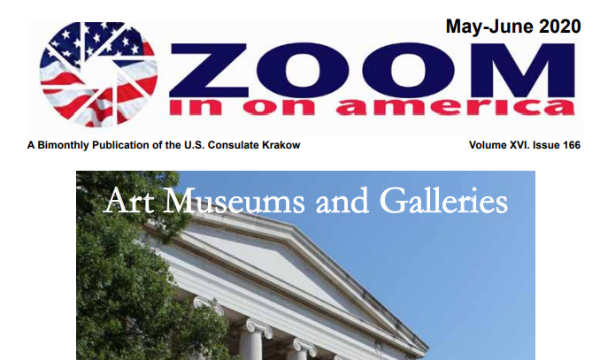 May-June 2020 issue of Zoom in on America
