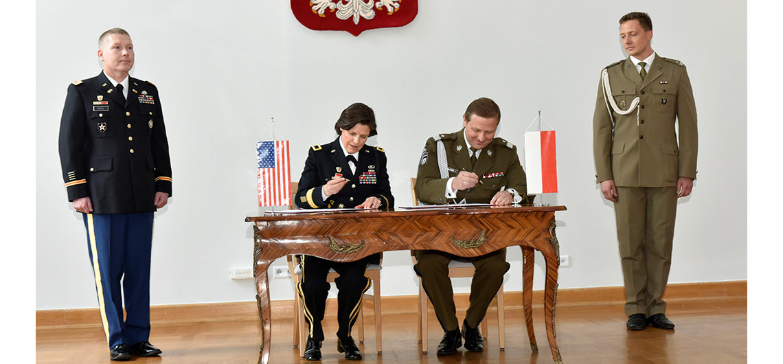U S Poland Sign Cyberspace Defense Cooperation Agreement