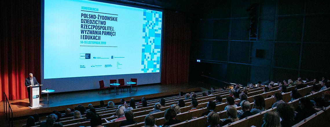 Konferencja nt. polsko-żydowskiego dziedzictwa oraz wyzwań pamięci i edukacji