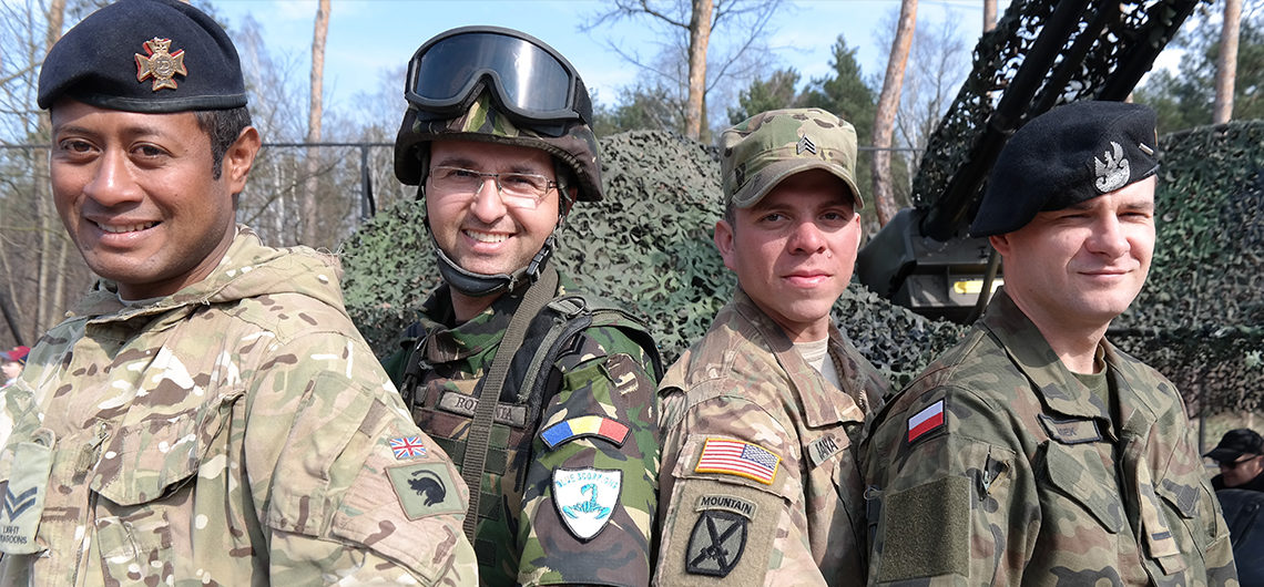 American Soldiers Meet With Residents of Bydgoszcz and