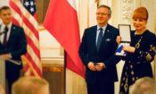 Ambasador Mosbacher oraz Minister Krzysztof Szczerski