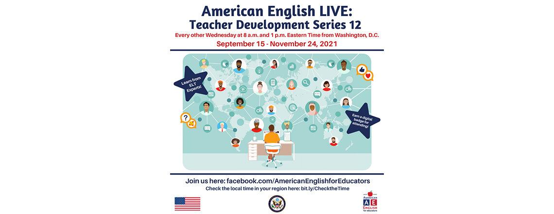 Zapraszamy nauczycieli do udziału w American English Webinars