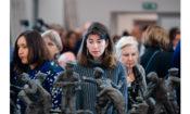 Zwiedzający wystawę Obraz Treblinki mogą oglądać rzeźby Samuela Willenberga. (zdjęcie: Sławomir Kasper, IPN)