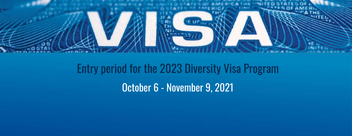 The DV-2023 Program Registration Begins on October 6, 2021