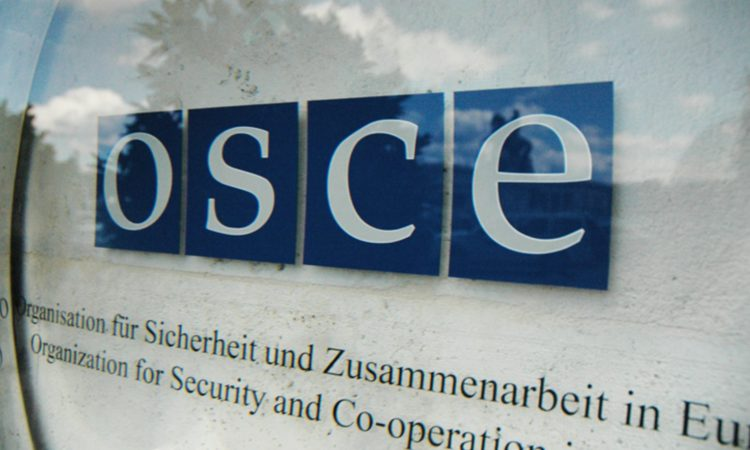 OSCE entrance photo