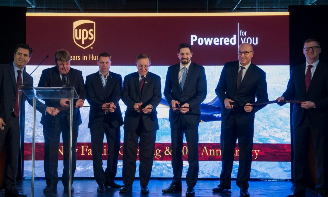 Remarks at the Opening of the New UPS Regional Logistics ...