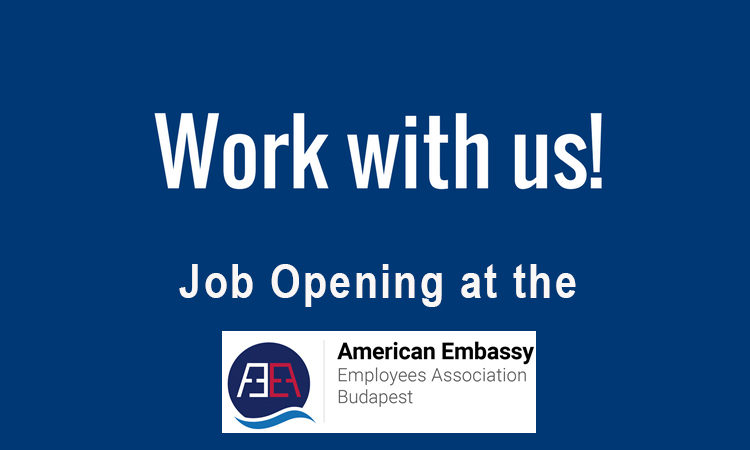 Work with us! Job opening at American Embassy Employees Association