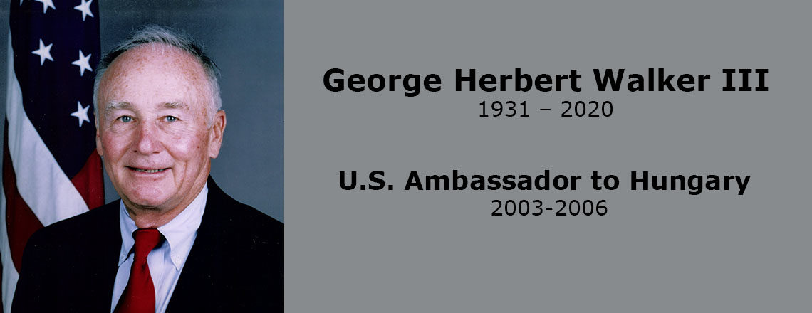 U.S. Embassy Budapest Remembers Ambassador Walker