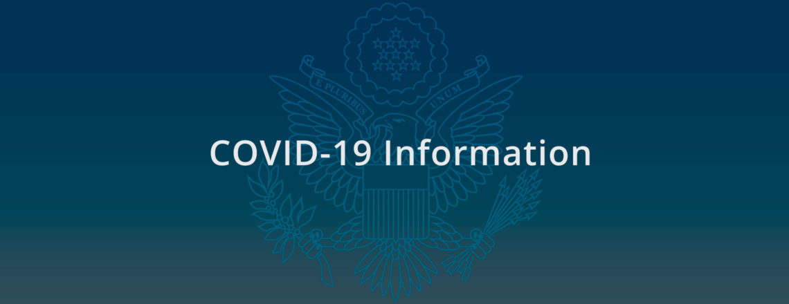 Information on entering Hungary and the U.S.