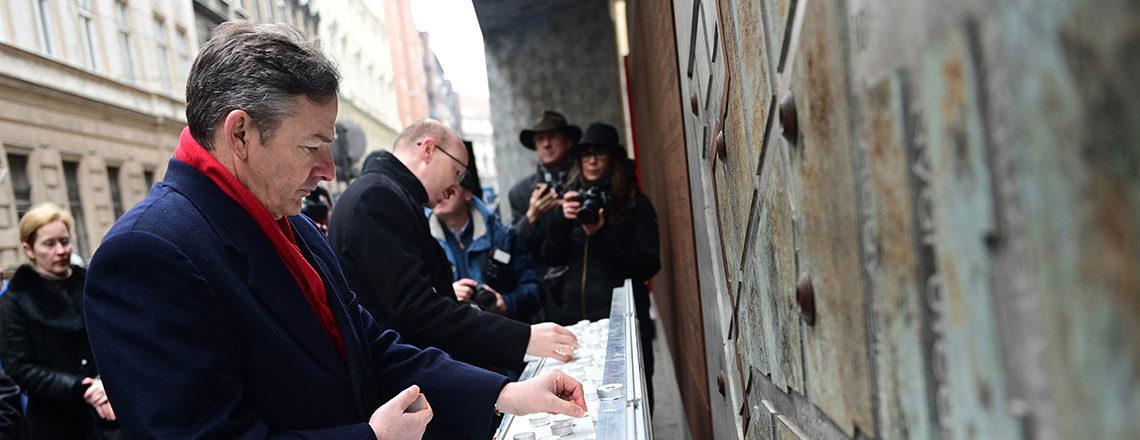 A budapesti gettó felszabadításának 75. évfordulója
