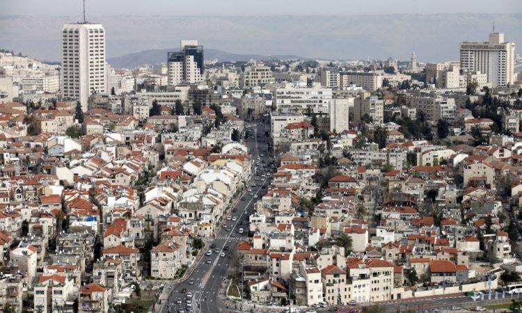 Jeruzsálem látképe légifelvételen (© Ariel Jerozolimski/Bloomberg/Getty Images)