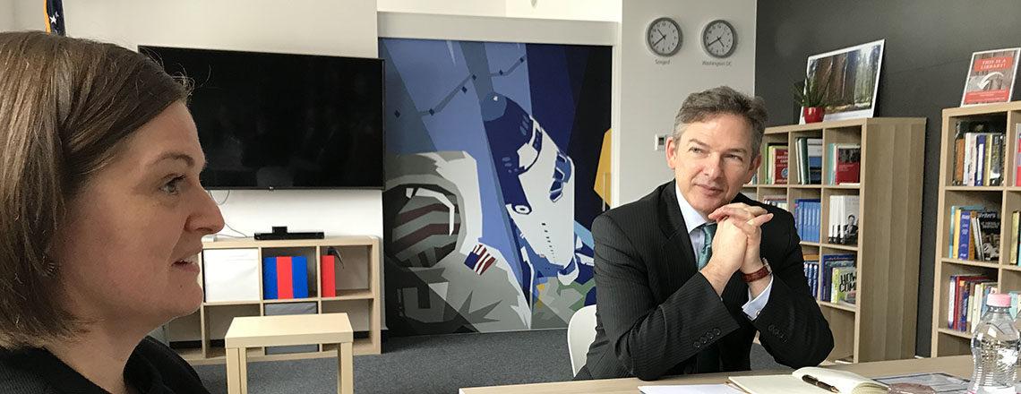 Dillard ideiglenes ügyvivő Szegedre és Hódmezővásárhelyre látogatott