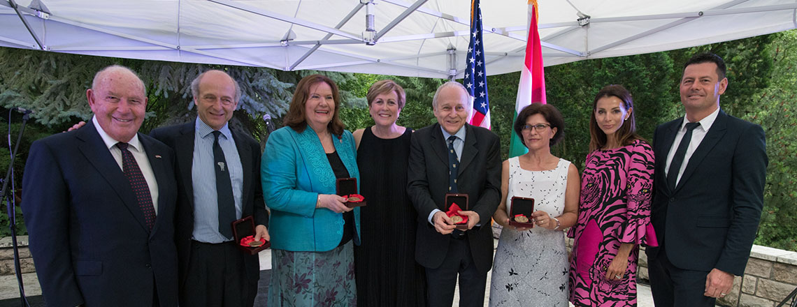 Kennedy Center Awards Gold Medal in the Arts to Four Hungarian Artists