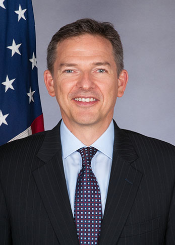 Photo of Chargé d'Affaires, a.i. Marc Dillard