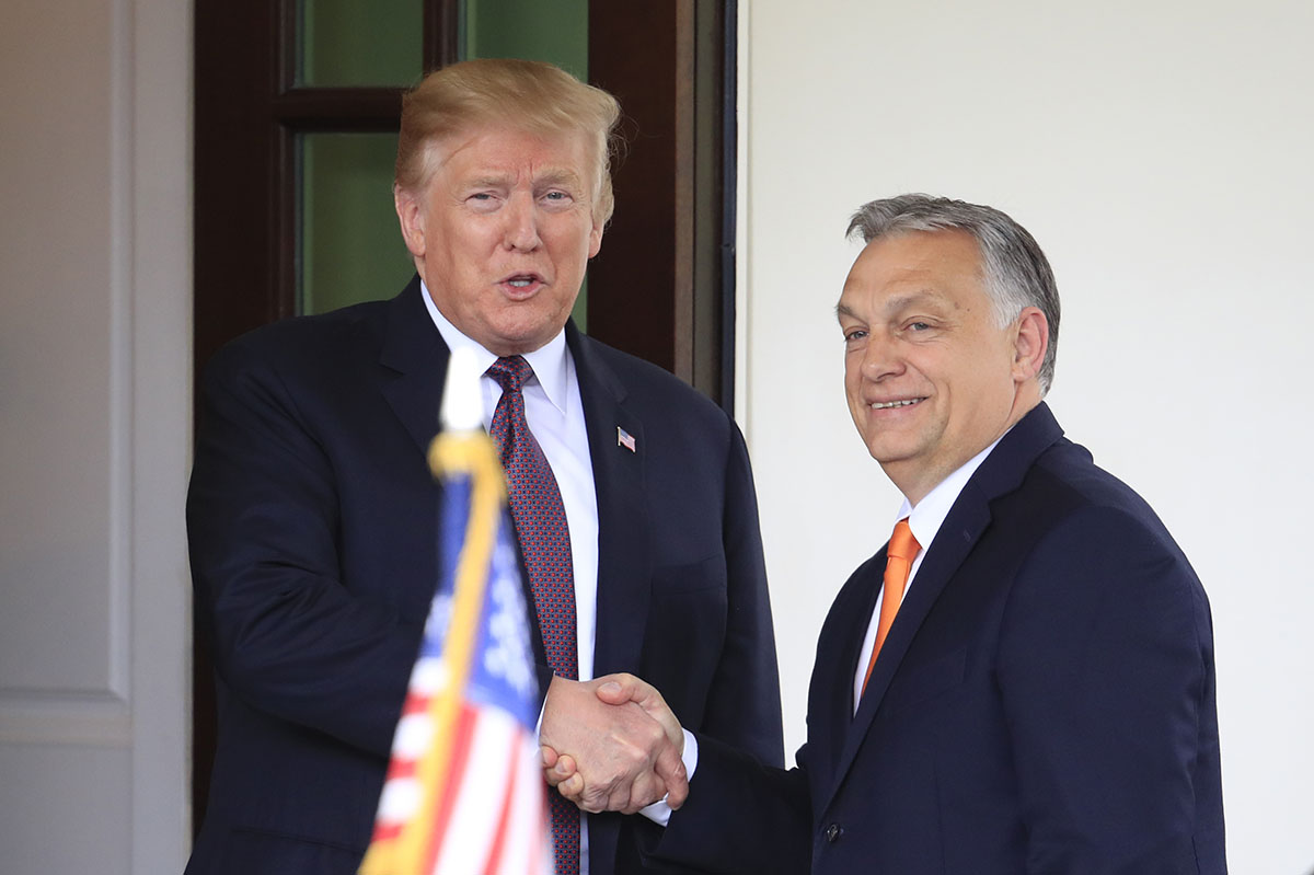 President Trump Met Prime Minister Orbán | U.S. Embassy in Hungary