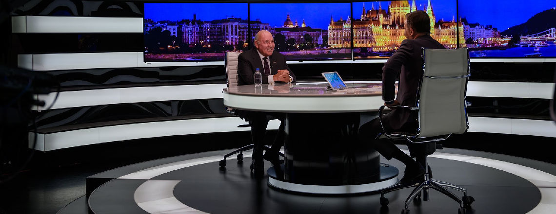 Ambassador Cornstein's Recent Interviews with Hungarian Media Outlets