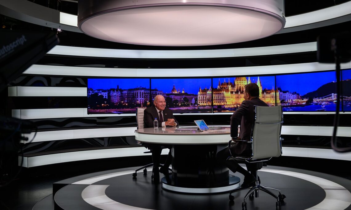 Ambassador at ATV interview
