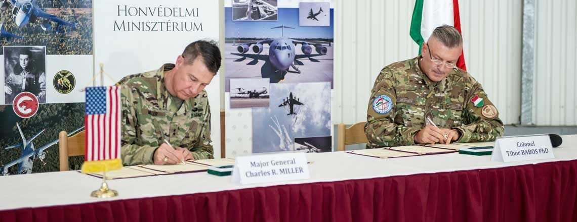 U.S., Hungary sign Implementing Agreements for Use of Air Bases