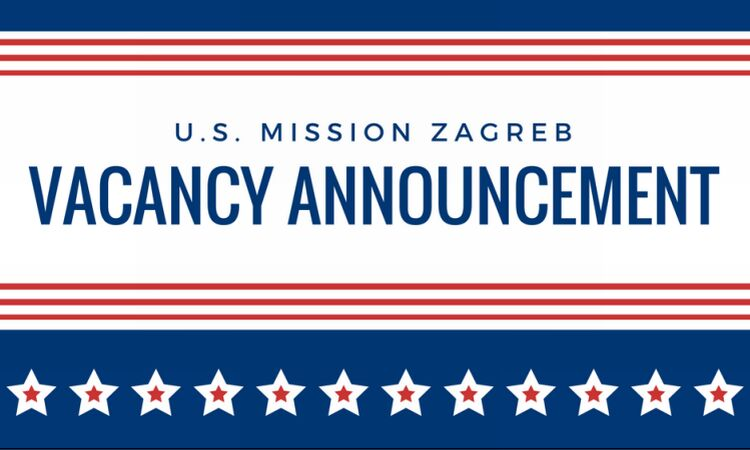 Vacancy Announcement [State Dept.]