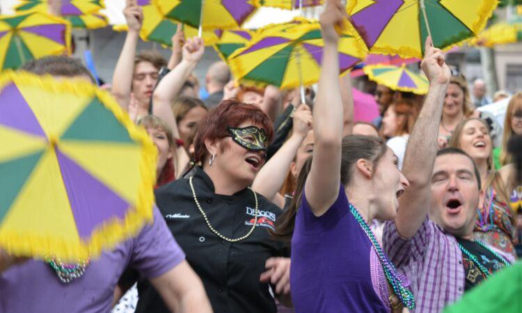 New Orleans Festival at Zrinjevac Park [State Dept.]
