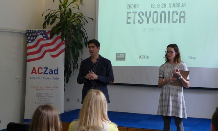Etsyionica workshop at the American Corner Zadar [State Dept.]