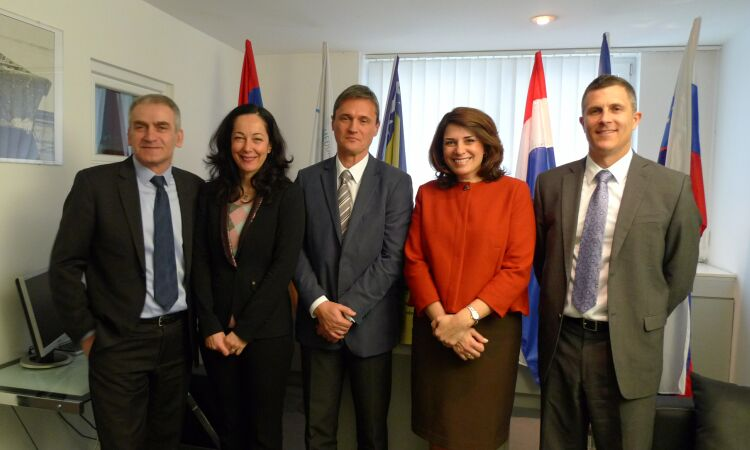 Ambassador Noyes visited the International SavaRiver Basin Commission in Zagreb [State Dept.]