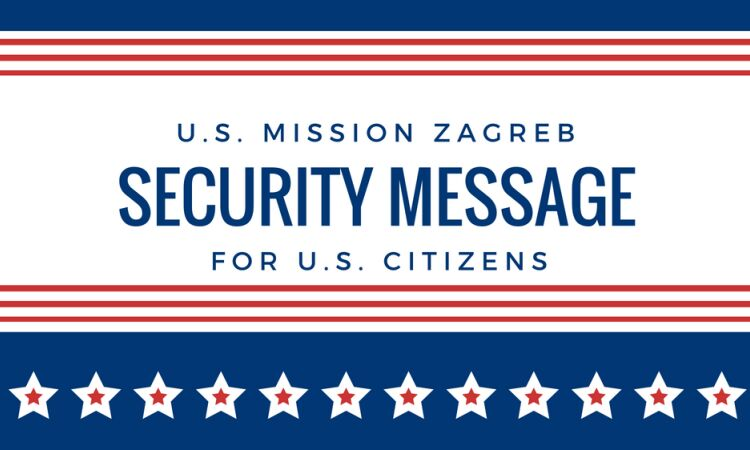 security message for u.s. citizens [State Dept.]