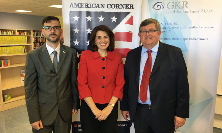 Visit Our Newly Opened American Corner In Rijeka U S Embassy In Croatia