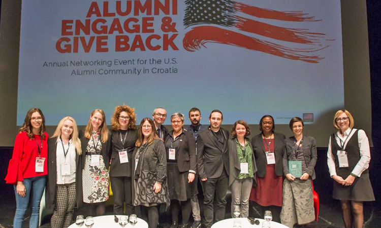 Alumni Engage and Give Back (IRO/ Edin Tuzlak)