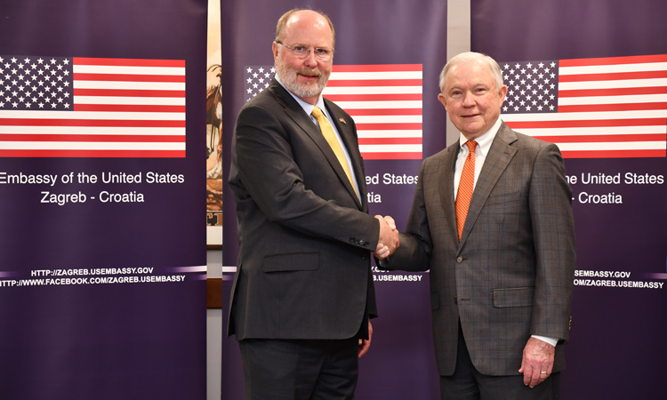 U.S. Embassy welcomes Attorney General Jeff Sessions (State Dept.)