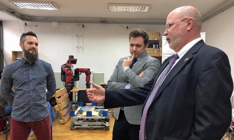 Ambassador Kohorst visits FER (State Dept.)