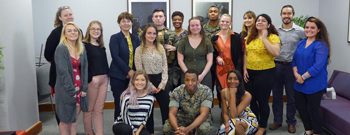 Indiana University Students Visit the Embassy