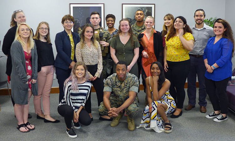 Indiana University Students Visit the Embassy (State Dept.)