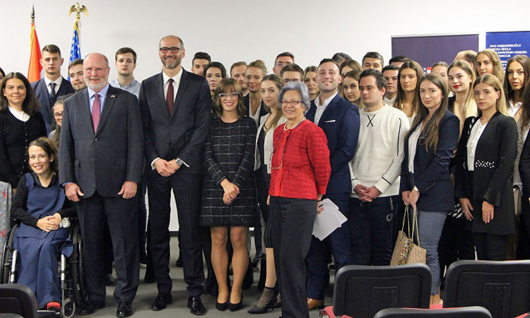 Ambassador Kohorst Opens Academic Year (State Dept.)