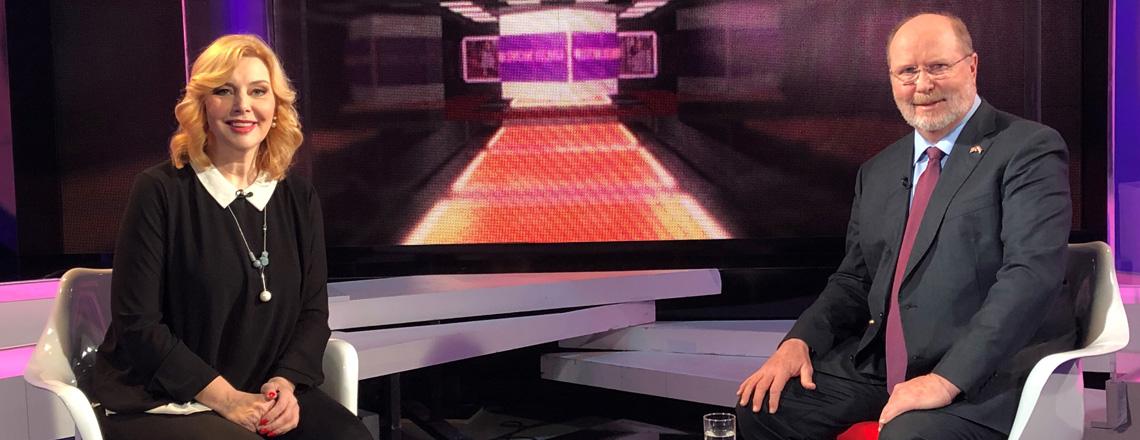 Ambassador Kohorst's Interview for Croatian Television